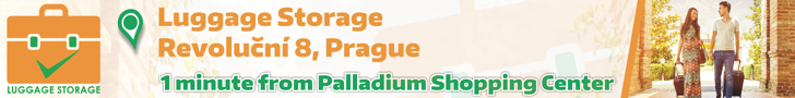 Luggage storage Prague banner